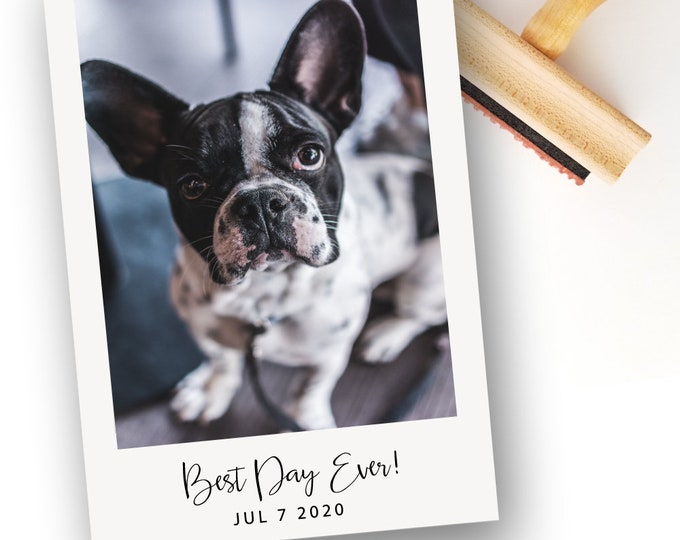 Featured listing image: Best Day Ever Stamper | Wood Handle or Self Inking Mounts (WS339)