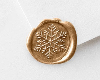 Snowflake Wax Seal Stamper Kit