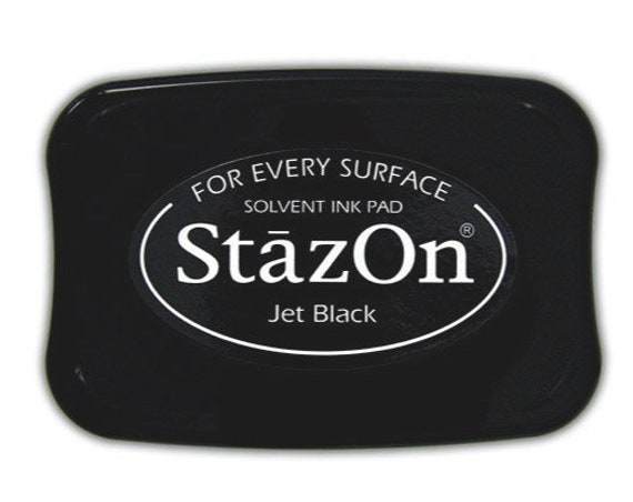 Staz On Ink Pad Extra Large in 12 Colors For Rubber Stamper | (I935)