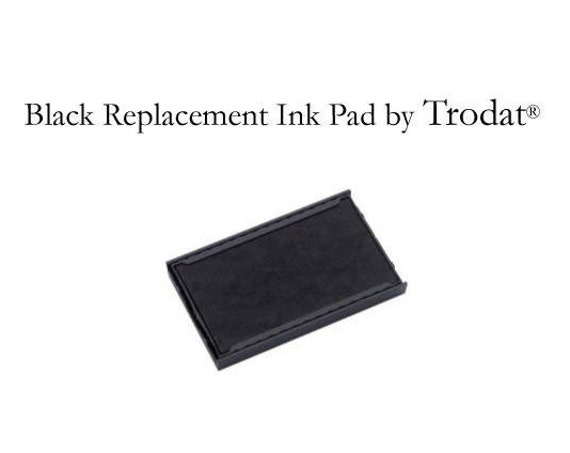 Replacement Inking Pad, Black Ink Pad, Stamp Pad, Ink Pad, Stamp Ink Pad, Stamping Ink, Multiple Models Available (I532)