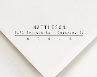 Address Stamp, New Home Stamper, Return Address Stamp, Wedding Stamp, Return Stamp, Envelope Stamping, Mailing Stamp, DIY Address (806)