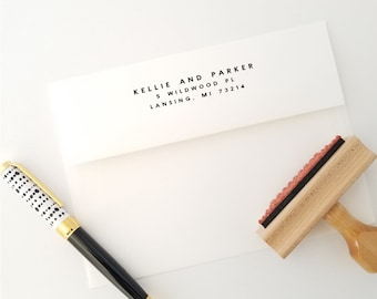 Personalized Return Address Stamp Ships in 1-3 Days