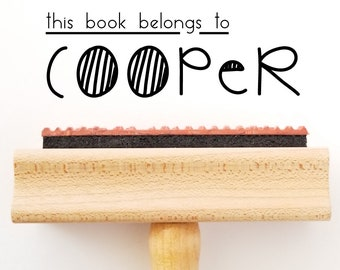 Library Book Stamp For Kids