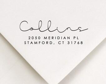 Handwriting Address Stamp, Return To Stamp, Personalized Stamp, Addressed Stamp, New Home Address Stamp, DIY Addressing - Snail Mail (510)