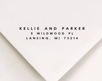 Housewarming Address Stamp, Personalized Address Stamp, Return Address Stamp, Self Inking For Address, First Home Housewarming Gift (635)