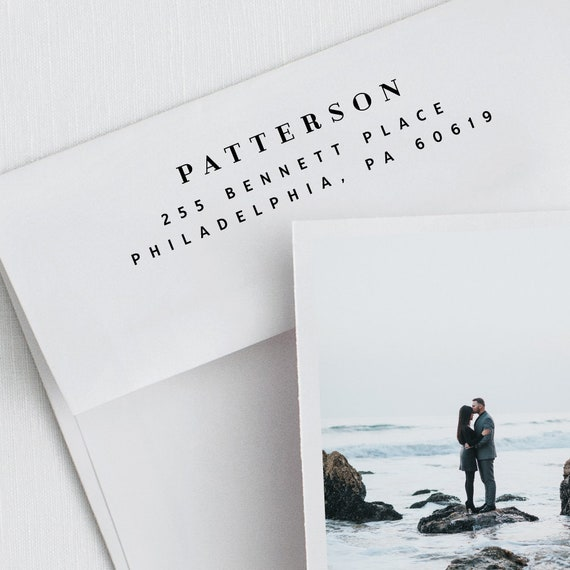 Patterson Custom Address Stamp