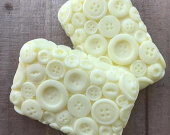 Lemon Sugar Button Soap