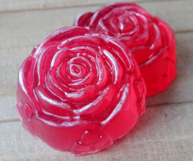 Rose Jelly Soap image 0
