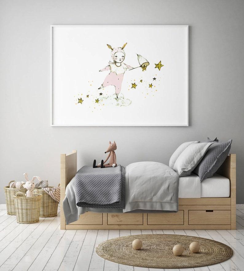 Kinderzimmer Mädchen-Kinderzimmer-Wand-Kunst Kinderzimmer   Etsy