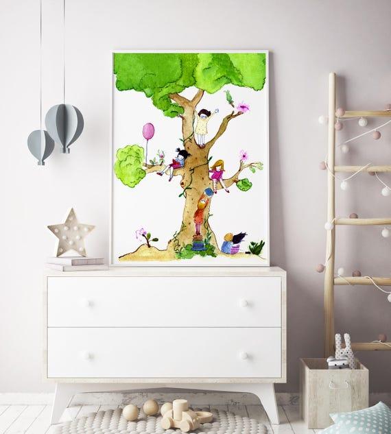 Nursery wall art girl nursery decor nursery decor girl | Etsy