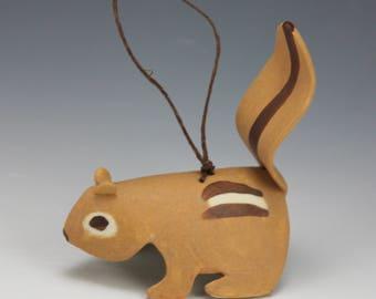 Chipmunk Ornament