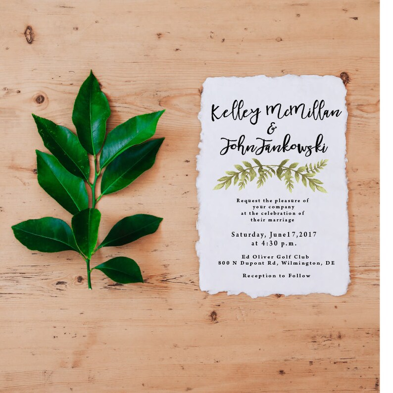 image regarding Etsy Printable Invitations named Printable Wedding day Invites Greenery Marriage ceremony Invitation Template  Invitation Suite Perfect Promoting Solution