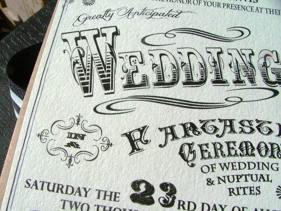 Wedding Invitations Carnival Wedding Circus Wedding Etsy