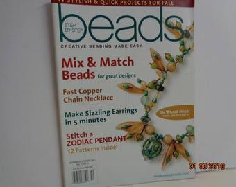 Beads  September october 2007