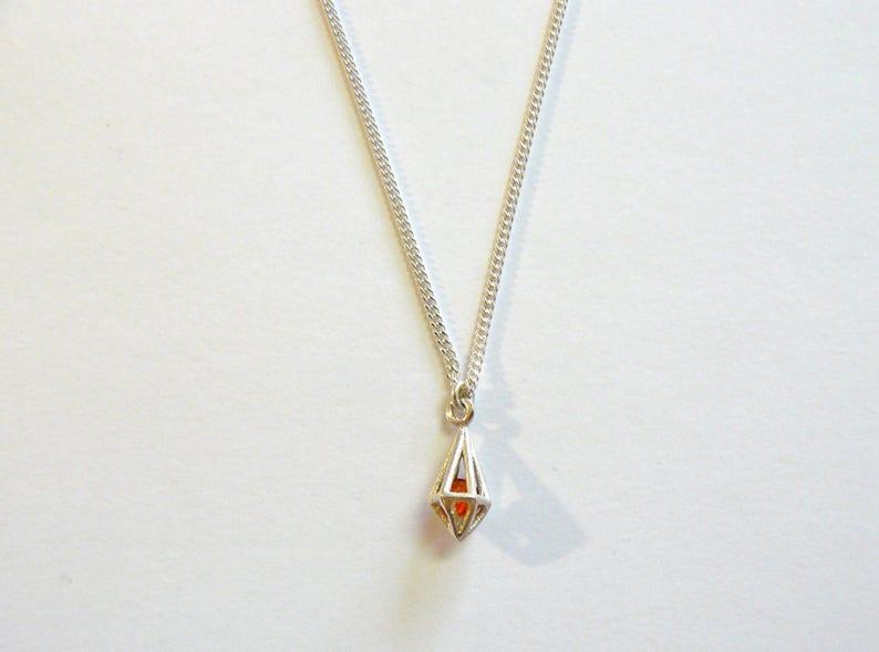 Ruby Prism Pendant