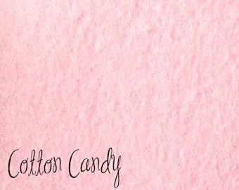 DESTASH 12x18 Wool felt Cotton Candy
