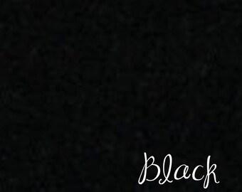 DESTASH 12x18 Wool felt Black