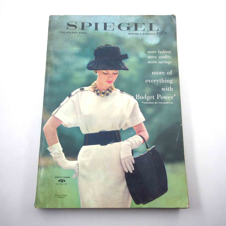 f274a41c745 Vintage 1960s Spiegel Fashion and Home Catalog for Spring and
