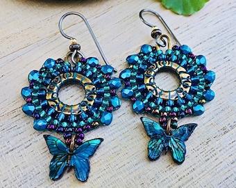 Sweet Paua Shell Butterflies