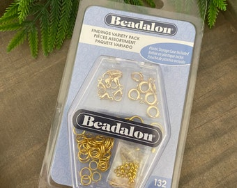 Findings Variety Pack, Gold Color