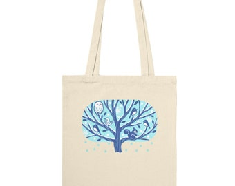 Nordic Style Winter Tote Bag