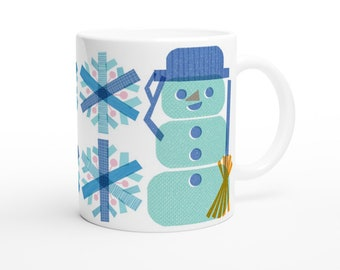 Snowman Nordic Style11oz Mug