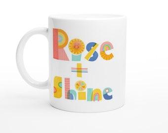 Rise and Shine Nordic Style 11oz Coffee Mug