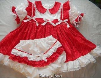 Adult baby dress etsy