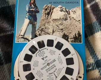NIP View-Master 3D Tour Reels - badlands , dated 1977, 1991