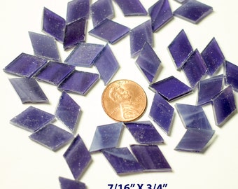 Purple Grape Wispy Mosaic Tile