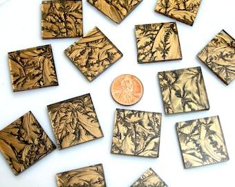 Van Gogh Bronze Mosaic Tile