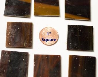 """Dark Brown Mosaic Tile """"Dark Mahogany"""""""