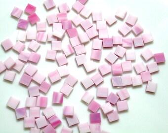 Flamingo Bubblegum Pink Mosaic Tile