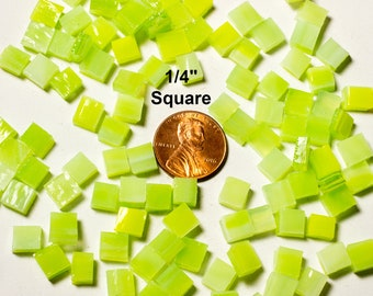 Key Lime Green Mosaic Tile