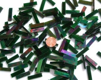 Emerald Green Iridescent Mosaic Tile