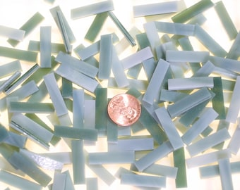 100 Seafoam Green Mosaic Tile Small Borders