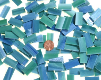 Bluegreen Mosaic Tile