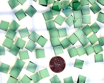 Sea Green Waterglass Tiles