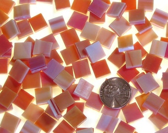 Orange Red Mosaic Tile