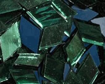 "100 1/4"" X 1"" Light Green Mirror Mosaic Tile Borders"