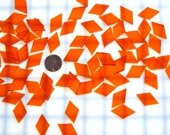 Orange Waterglass Tiles Quantity Discount