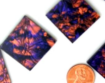 Van Gogh Violet Copper Mosaic Tile