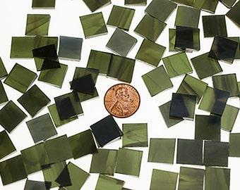 Olive Green Mosaic Tile
