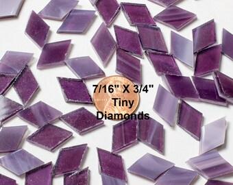 Wispy Violet Mosaic Tile