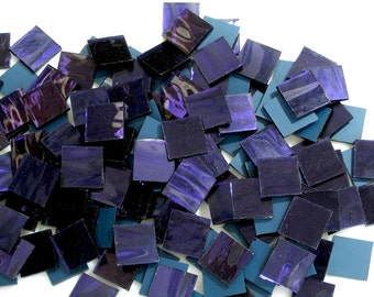 Ultra Violet Purple Mirror Mosaic Tile