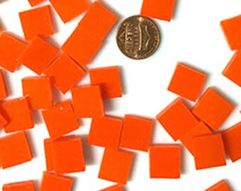Orange Opal Mosaic Tile
