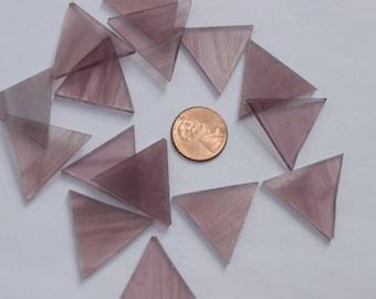 Light Purple Mosaic Tile Triangles
