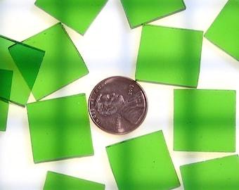 Light Green Waterglass Mosaic Tile