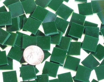 Dark Green Mosaic Tile