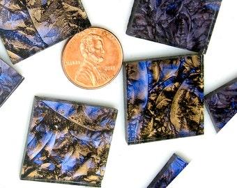 Van Gogh Blue Champagne Mosaic Tile
